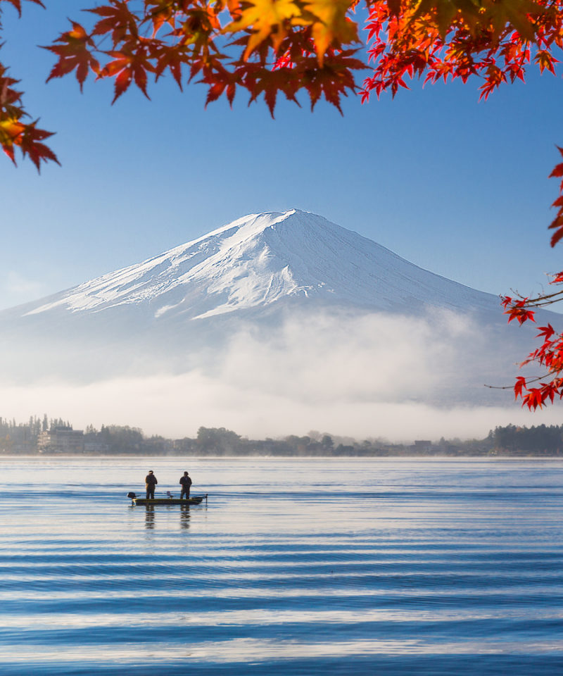 Fall Foliage in Japan