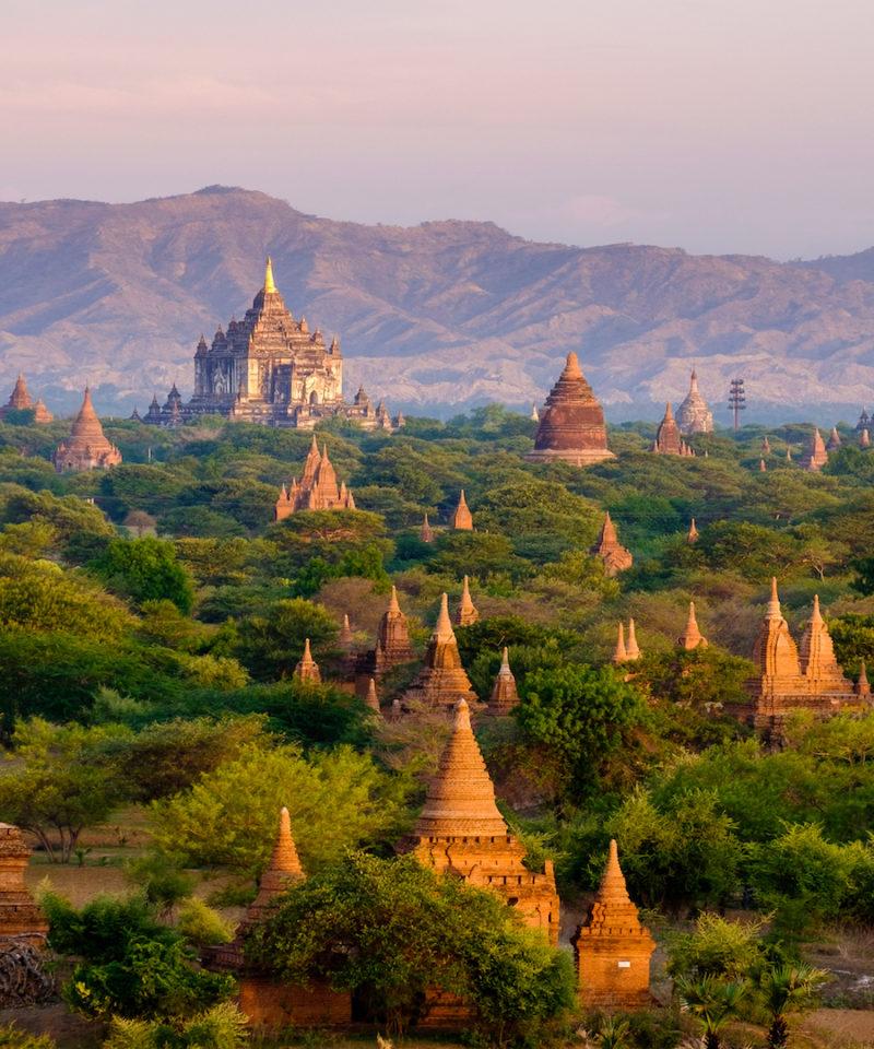 Burma, Thailand, Laos, Cambodia
